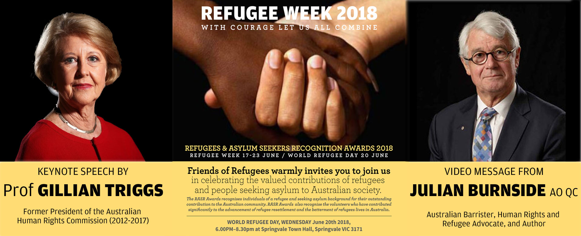 REFUGEE WEEK 2018-REFUGEE AND ASYLUM SEEKER RECOGNITION AWARDS 2018